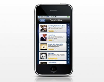 iPhone app coming soon | Quizible